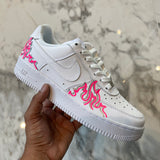 Pink 3M Neon Flamez Air Force 1