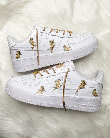 """Angel Chain Laces"" Air Force 1"