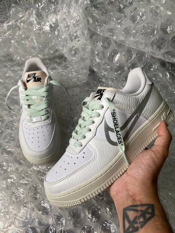 """Padded Tongue "" Reflective Air Force 1"