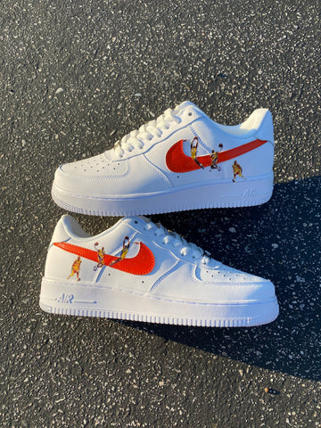 """Orange Kobe"" Air Force 1"