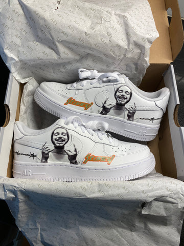 """Post Malone"" Air Force 1"