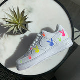 3M Reflective Rainbow Bunny Air Force 1