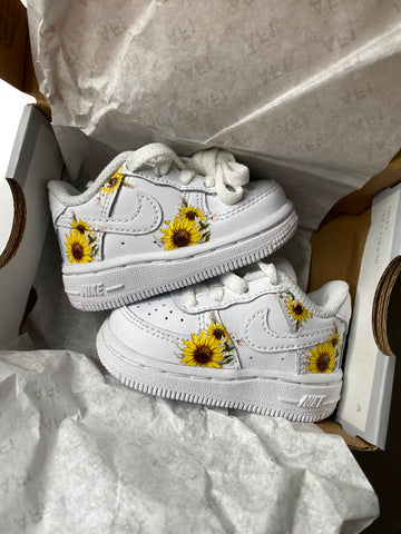 Toddler Sunflower Air Force 1