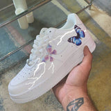 Pop-Up Exclusive Butterfly Lightning Air Force 1