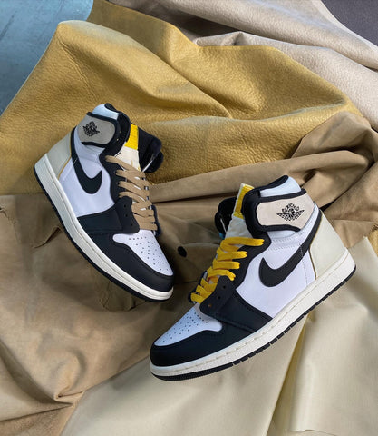 Canvas Limited Air Jordan 1