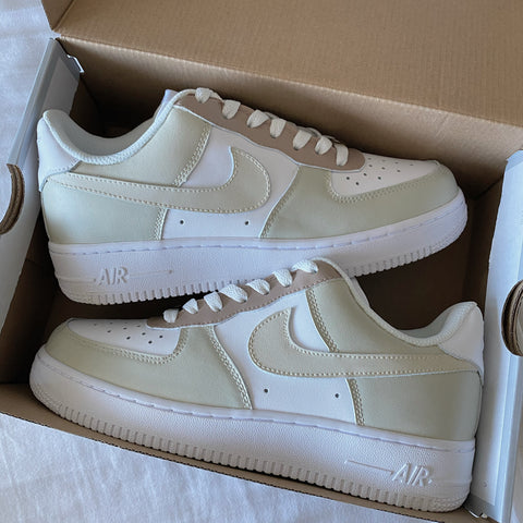 Majorwavez Matte Earth Tone Air Force 1