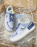 Blue Industrial Shadow Air Force 1
