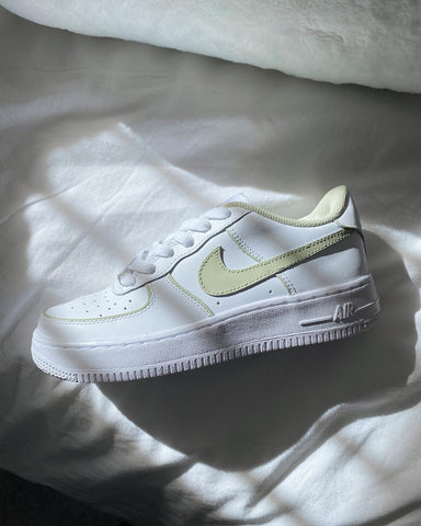 Olive Green Outline Air Force 1