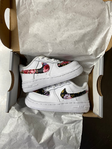 Toddler black Rose Air Force 1