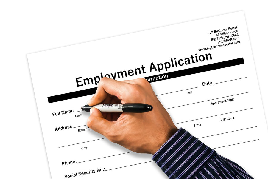 What questions should NOT be on your employment application?