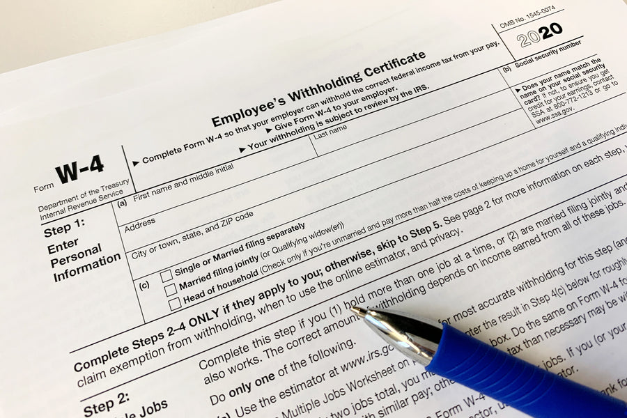 IRS Debuts the 2020 Form W-4, Employee's Withholding Certificate