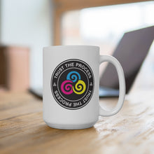 Load image into Gallery viewer, HR Rescue Trust The Process White Ceramic Coffee Mug - HR-Rescue