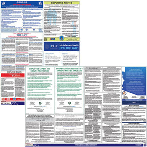 Federal and State Labor Law Posters Kit (Spanish) - HR-Rescue