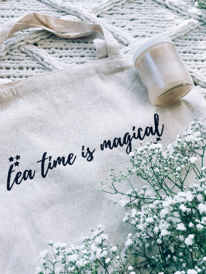 Tea Time is Magical Tote Bag