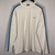 Vintage Nike White & Baby Blue Long Sleeve Tee - Men's Large/Women's XL