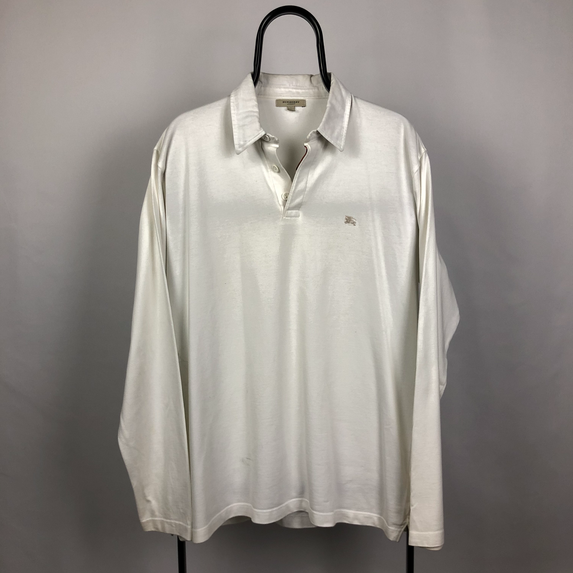 Burberry Shirt in White - Men's Large/Women's XL