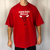 Vintage Oversized Adidas Chicago Bulls Tee in Red - XXL