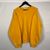 Vintage Russell Athletic Sweatshirt in Yellow - Large