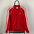Vintage Adidas Track Jacket in Red - Men's Medium/Women's Large