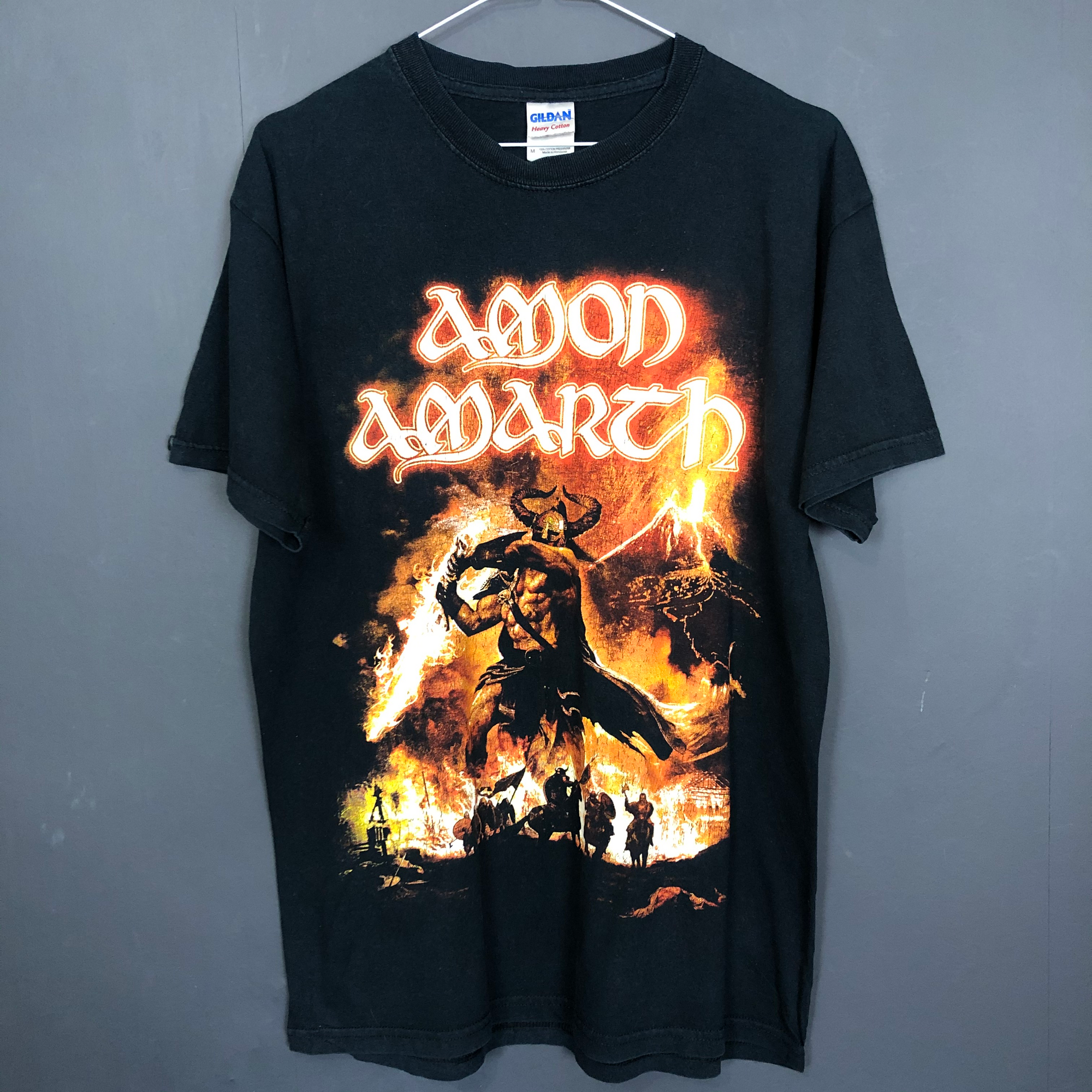 Vintage 'Amon Amarth' Rock Band / Metal Tee - Medium - Vintique Clothing