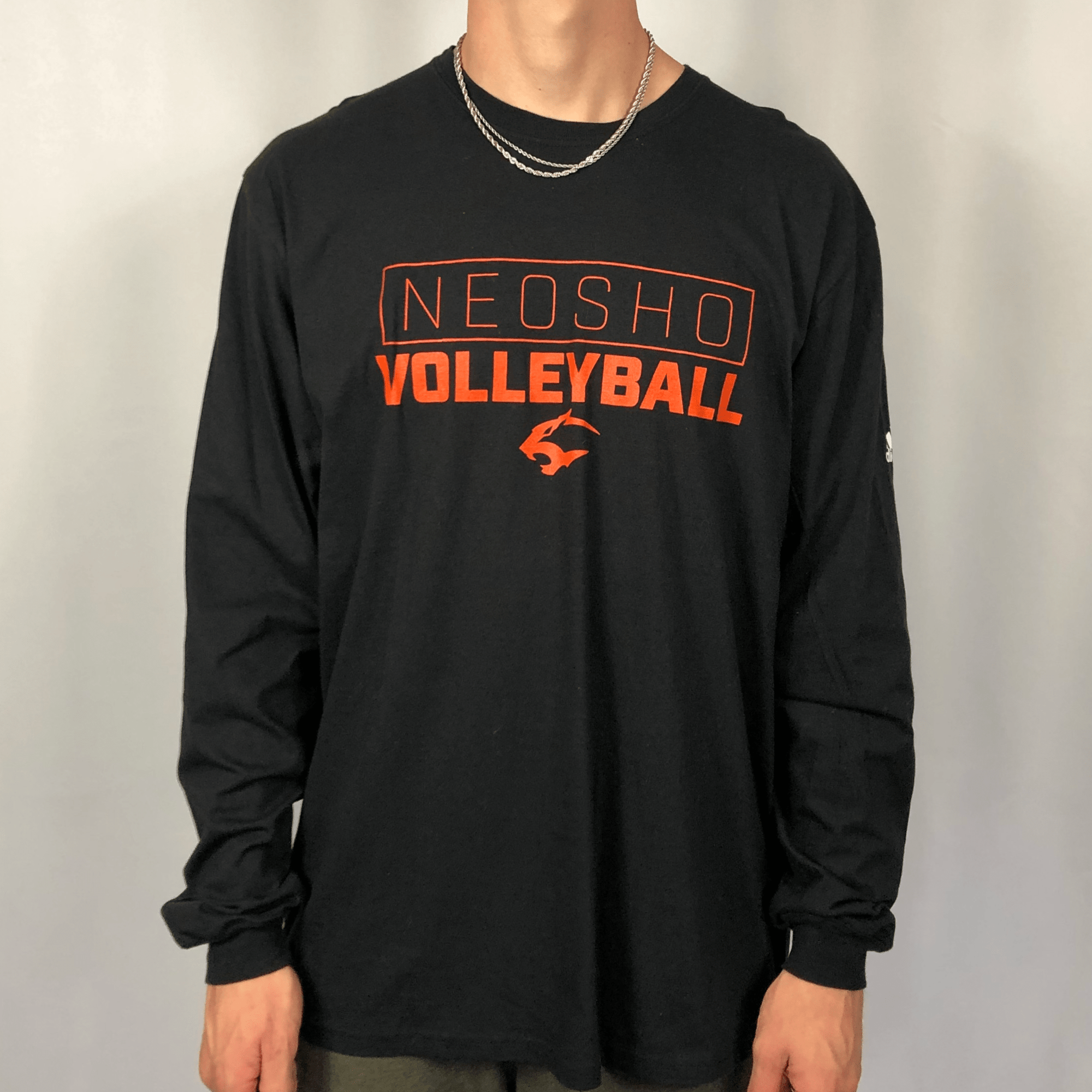 Adidas 'Neosho Volleyball' Long Sleeve Tee - XL - Vintique Clothing