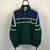 Vintage Adidas Track Jacket in Green/Navy - Men's Large/Women's XL