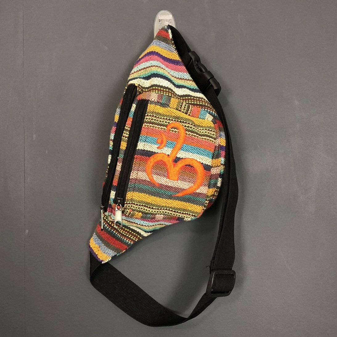 Vintage Arabic Embroidered Fanny Pack - Vintique Clothing