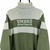 Vintage Umbro Roll Neck Knitted Jumper in Olive & Beige - Men's Medium/Women's Large