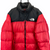 The North Face Nuptse 700 Down Puffer Jacket in Red & Black - Men's XL/Women's XXL
