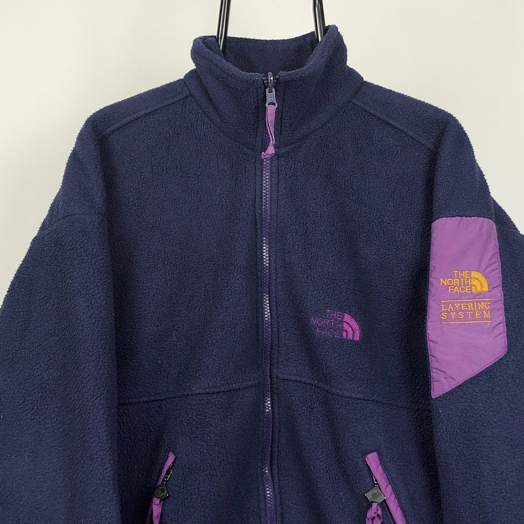 North Face Polartec Fleece in Purple - Men's Medium/Women's Large