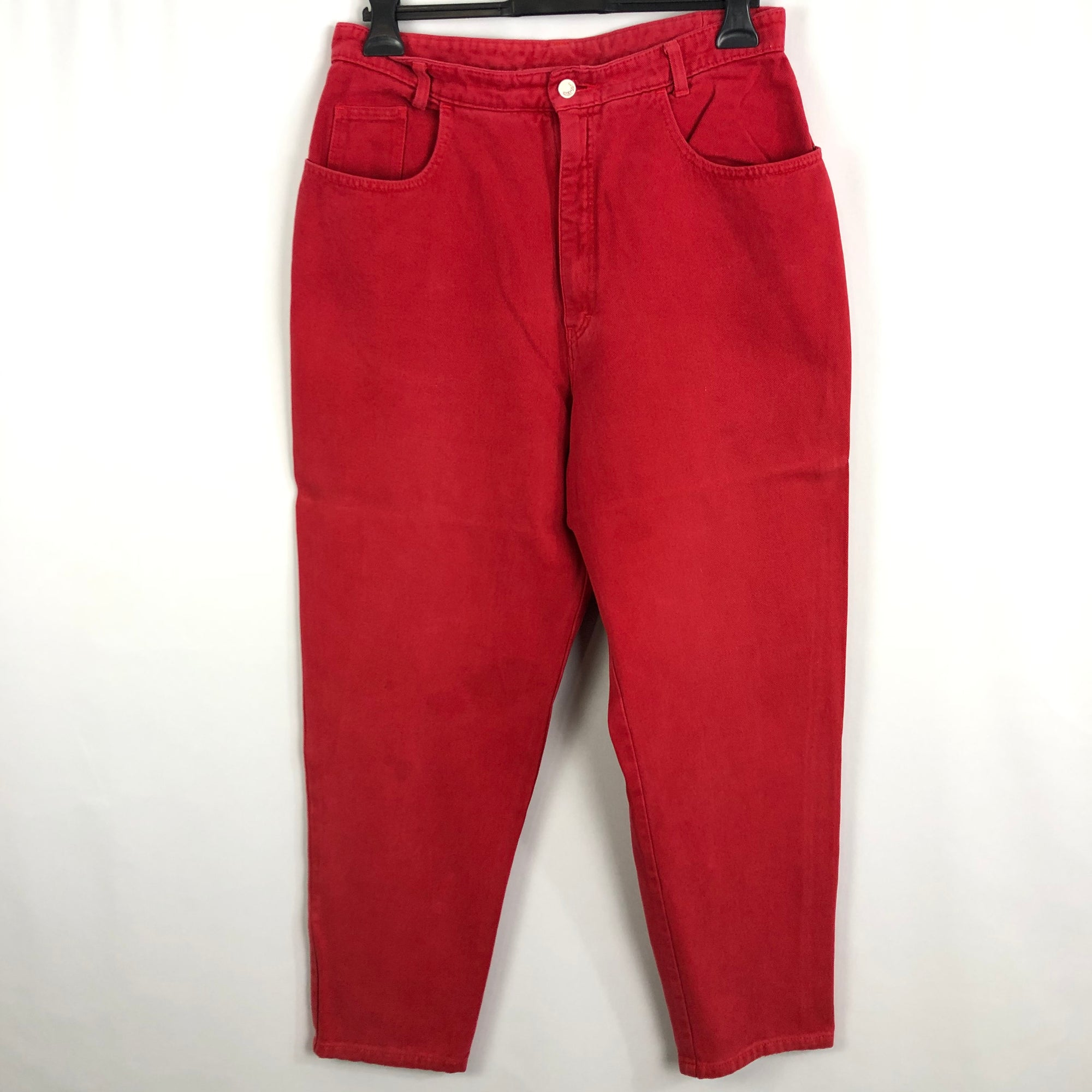 Vintage 90s Geiger Jeans in Red - W34