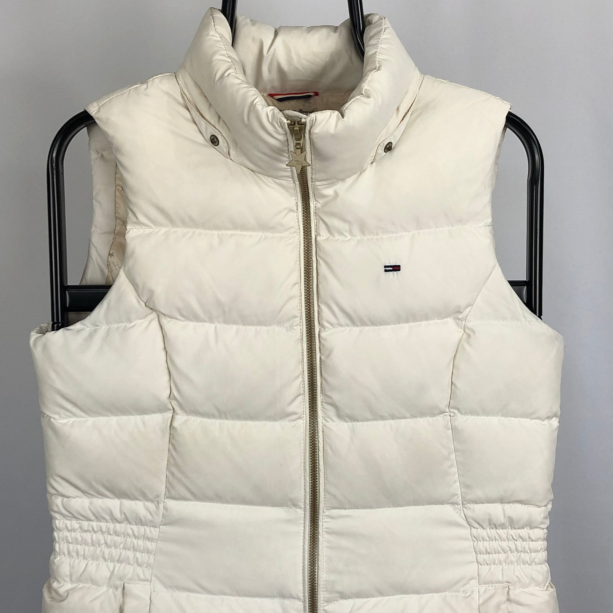 Tommy Hilfiger Gilet in White - Men's Small/Women's Medium