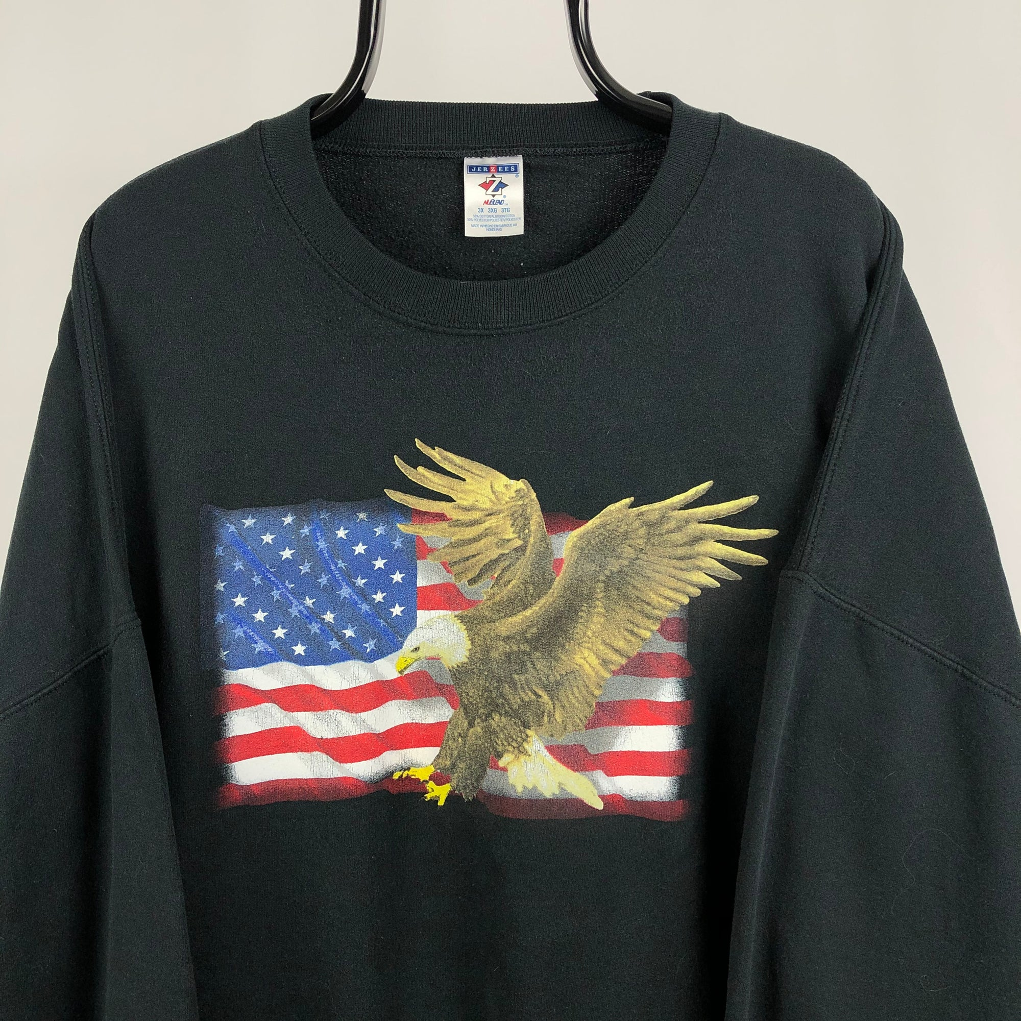 Vintage American Eagle Sweatshirt - Men's XXL/Women's XXXL