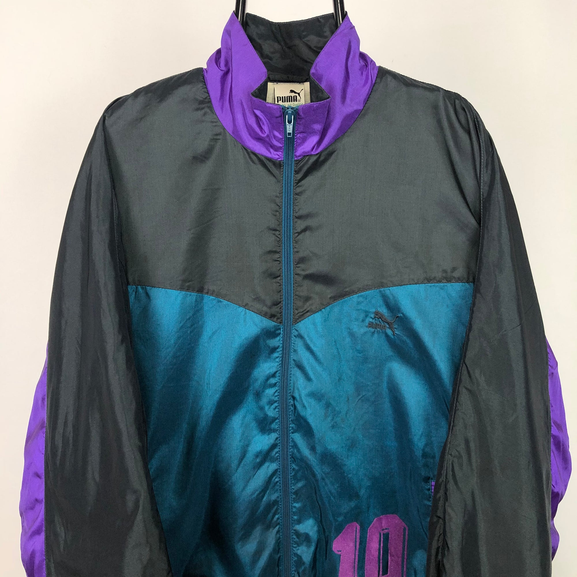 Vintage 90 Puma Track Jacket - Men's Large/Women's XL