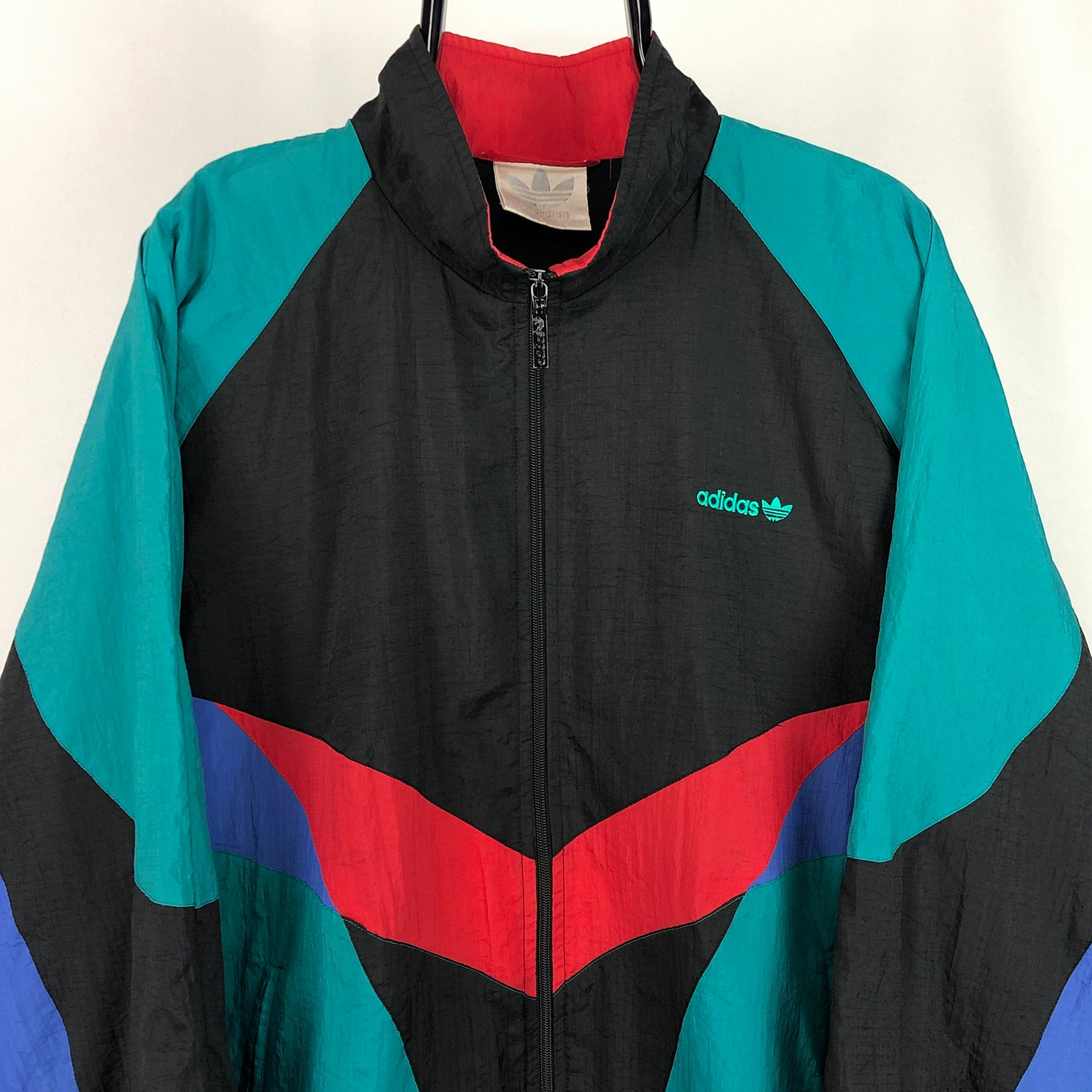 Vintage 80s Adidas Track Jacket - Men's Large/Women's XL