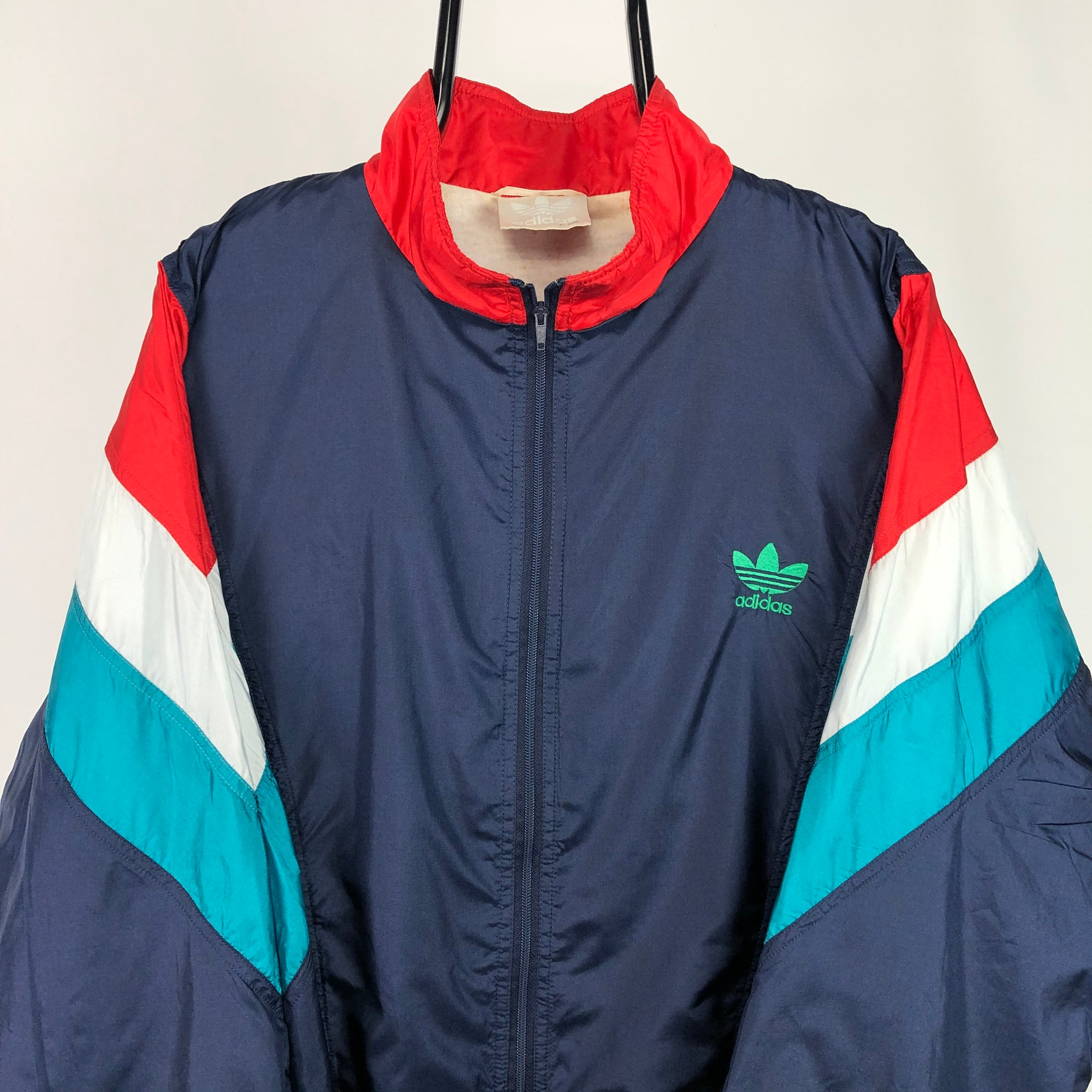 Vintage 80s Adidas Vertex Track Jacket - Men's XL/Women's XXL