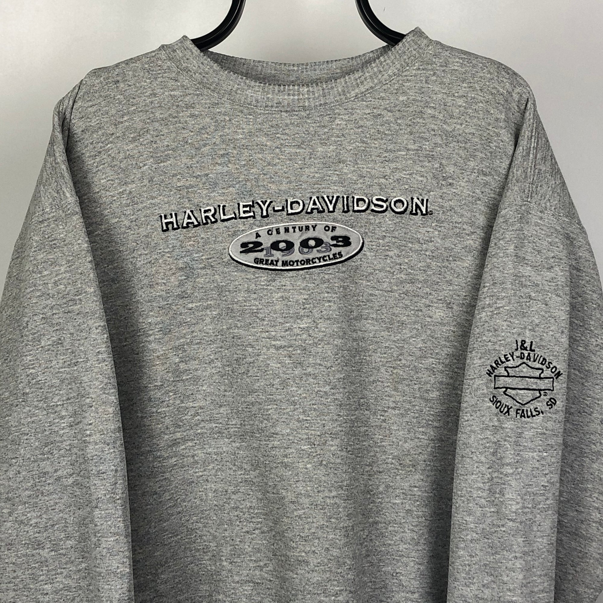 Harley Davidson '2003 Century' Sweatshirt - Men's Large/Women's XL