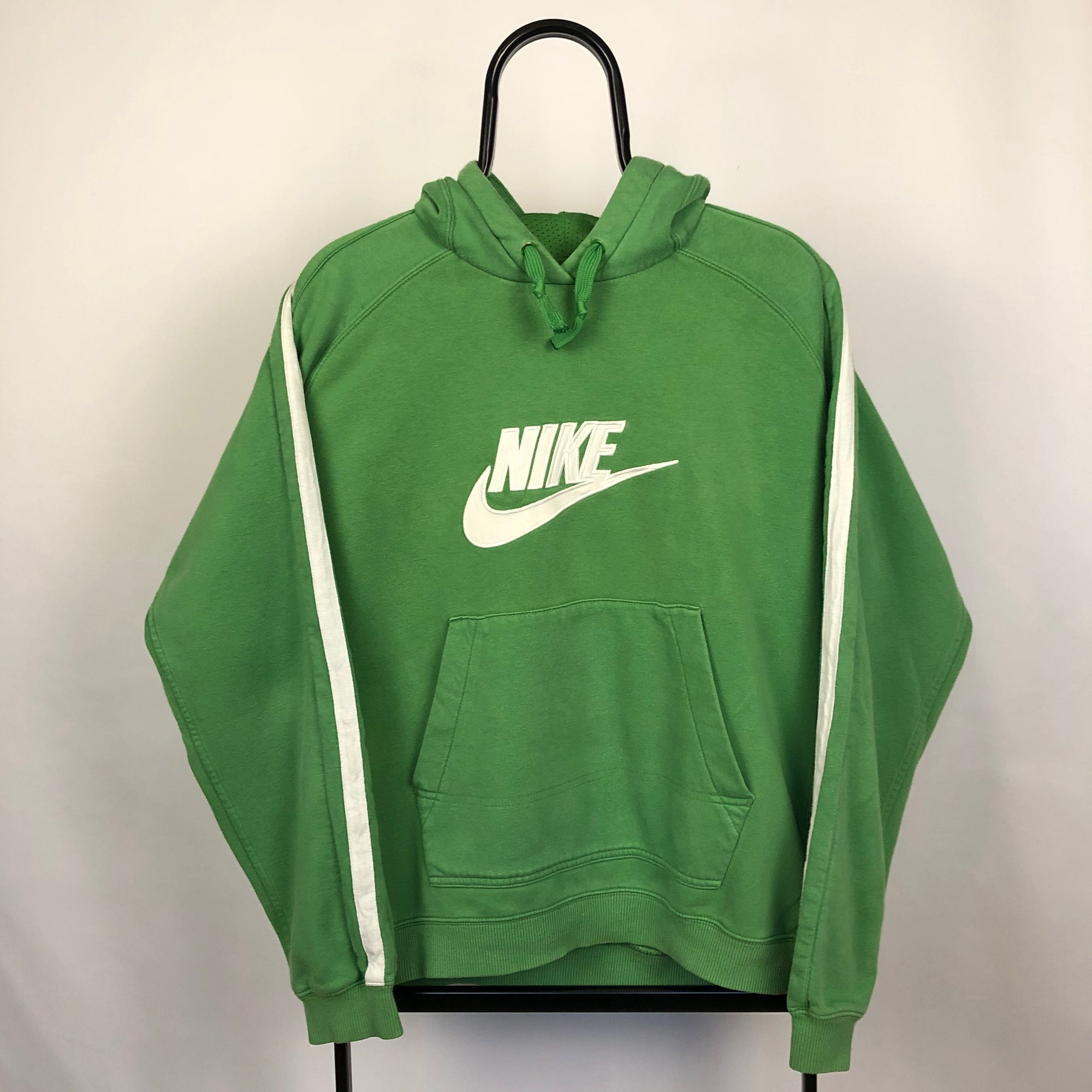 Vintage Nike Hoodie in Green - Men's Medium/Women's Large