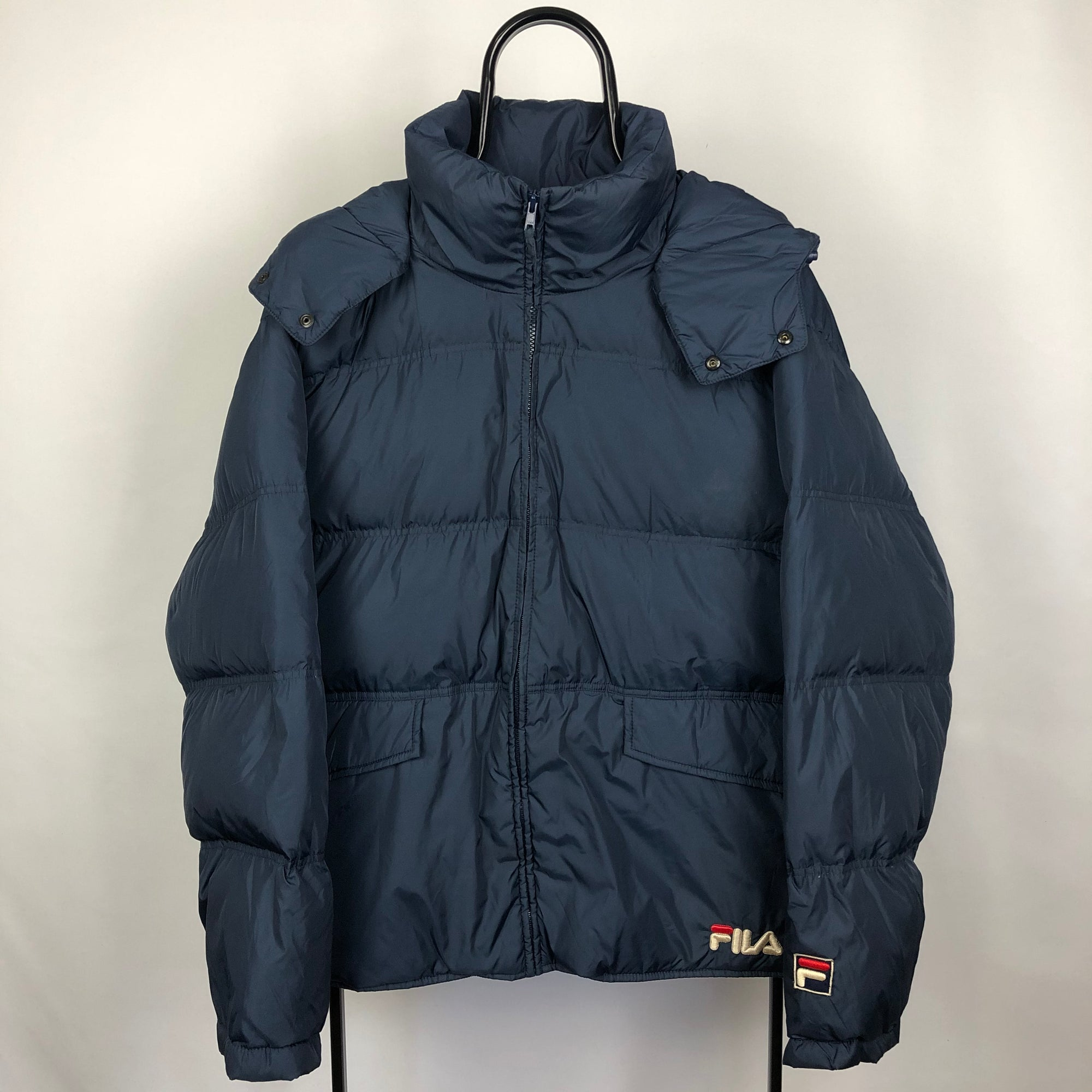 Fila Navy Puffer - Men's Large/Women's XL