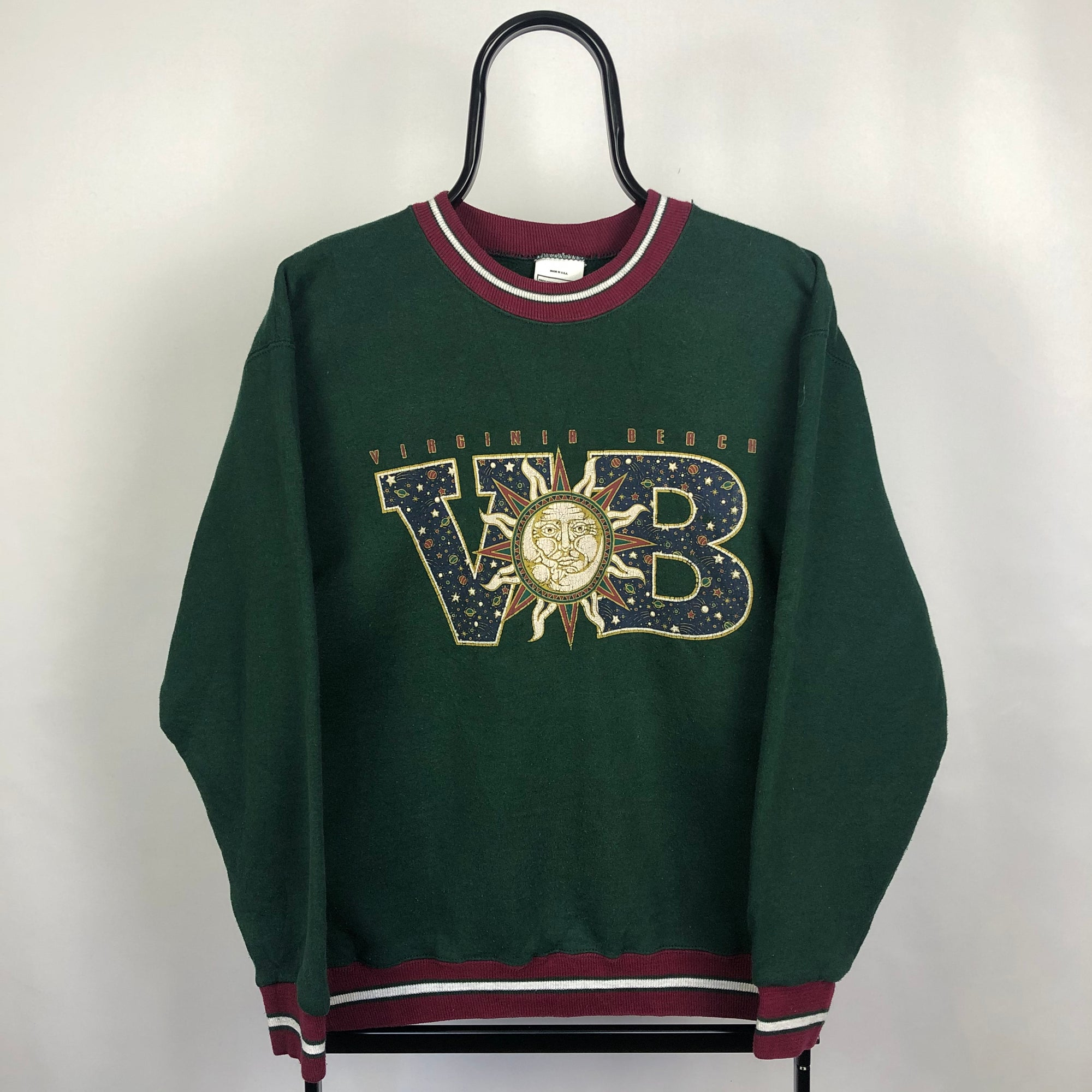 Vintage 'Virginia Beach' Sweatshirt - Men's Small/Women's Medium
