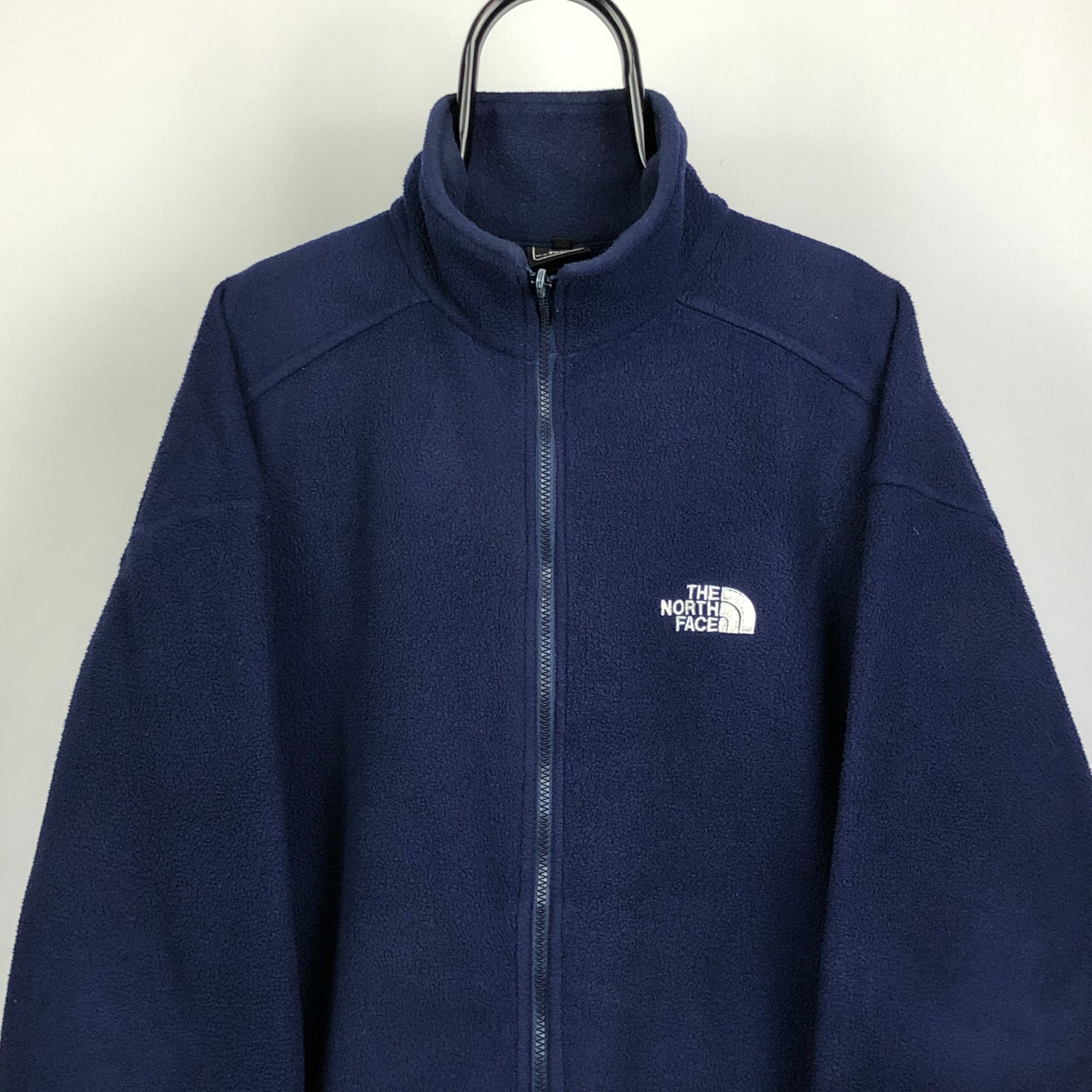 North Face Fleece in Navy - Men's XL/Women's XXL