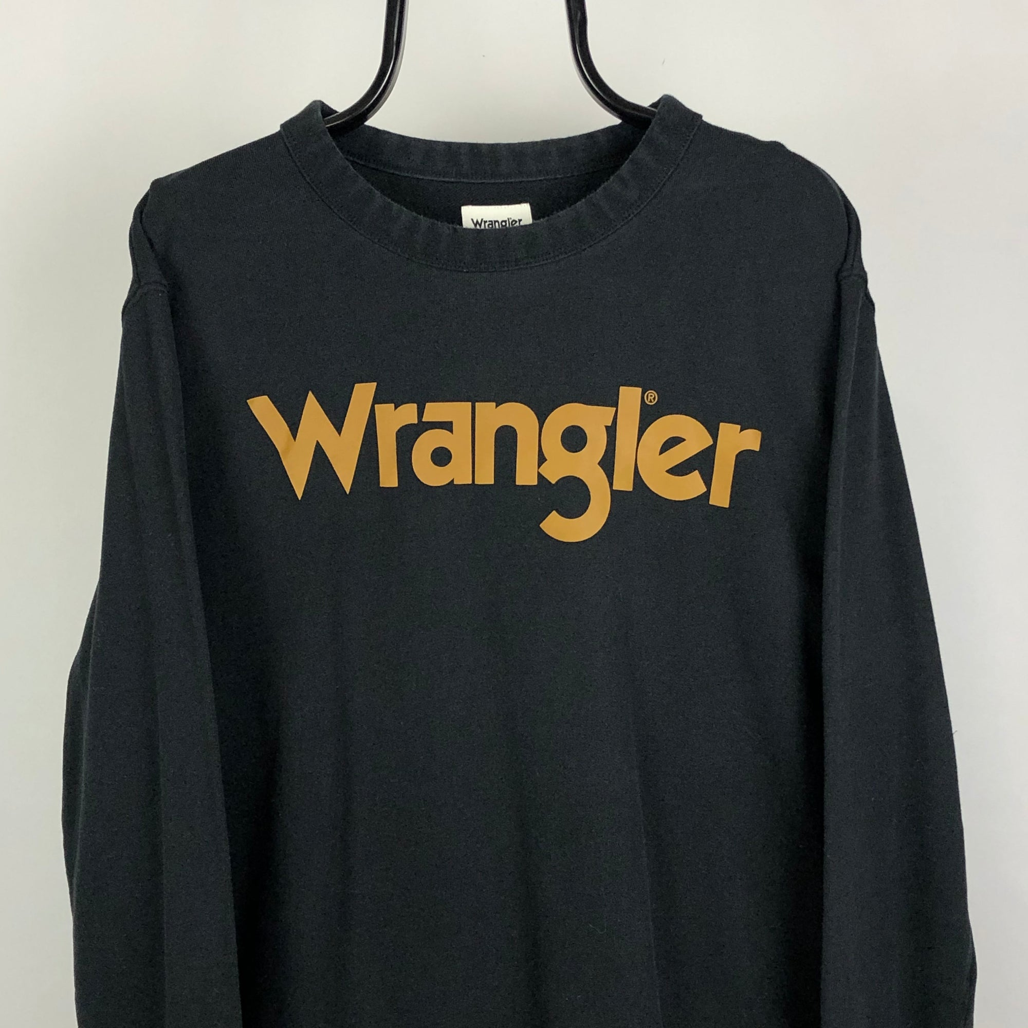 Wrangler Spellout Sweatshirt - Men's XL/Women's XXL