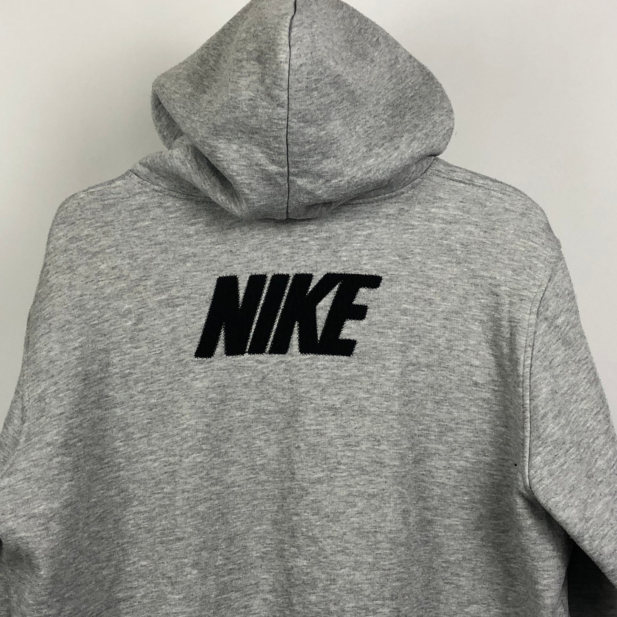 Nike Spellout Hoodie in Grey - Men's Large/Women's XL