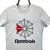 REEBOK CLASSICS SPELLOUT TEE IN WHITE - MEN'S SMALL/WOMEN'S MEDIUM