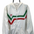 Vintage Adidas Track Jacket in White, Green & Red - Men's Medium/Women's Large