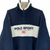 Vintage 90s Polo Sport Spellout Fleece in Navy & Cream - Men's XL/Women's XXL