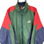 VINTAGE 90S NIKE TRACK JACKET IN GREEN, NAVY & RED - MEN'S LARGE/WOMEN'S XL