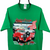 Vintage Carter County Car Club Tee in Green - Men's Large/Women's XL