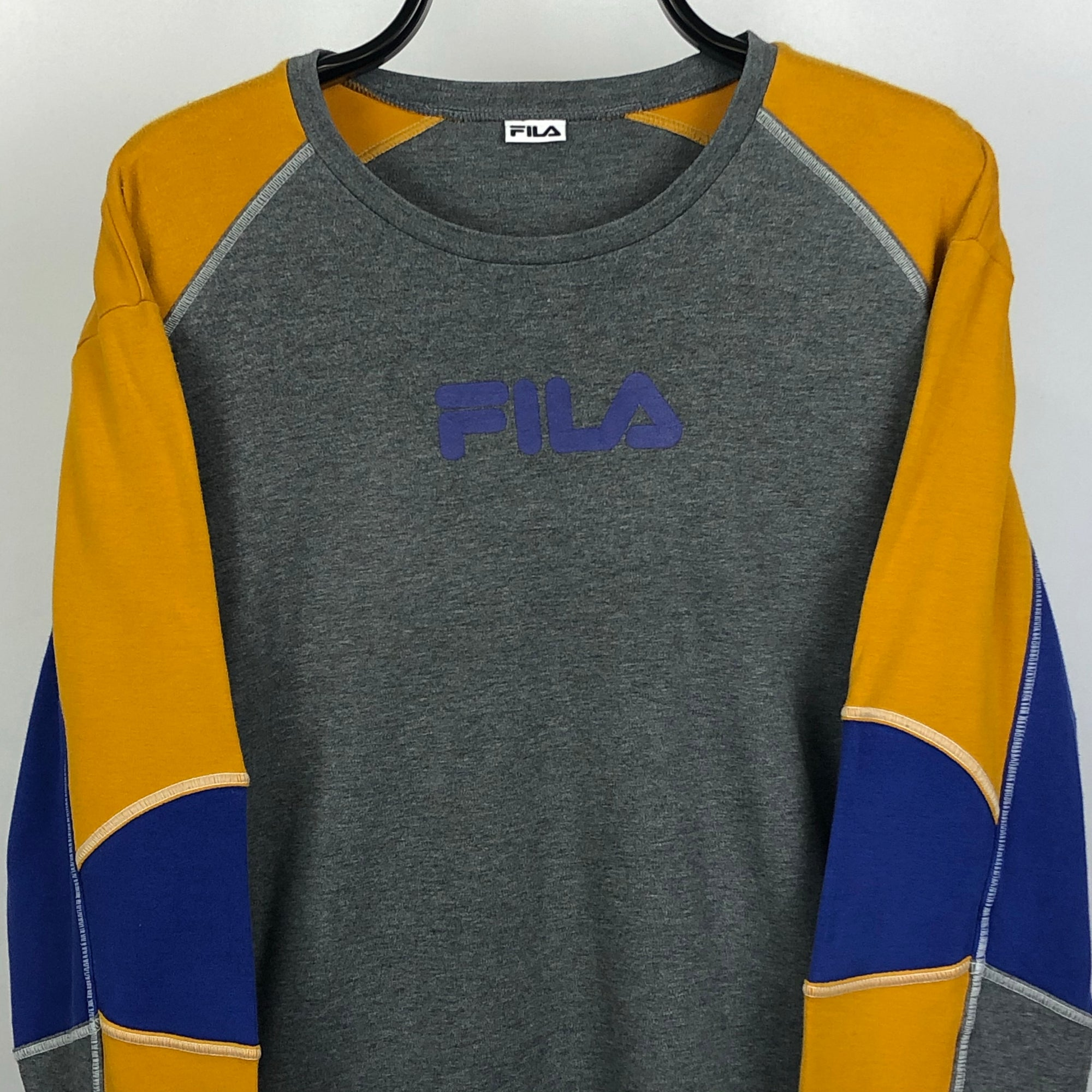Vintage Fila Long Sleeved Tee - Men's Large/Women's XL