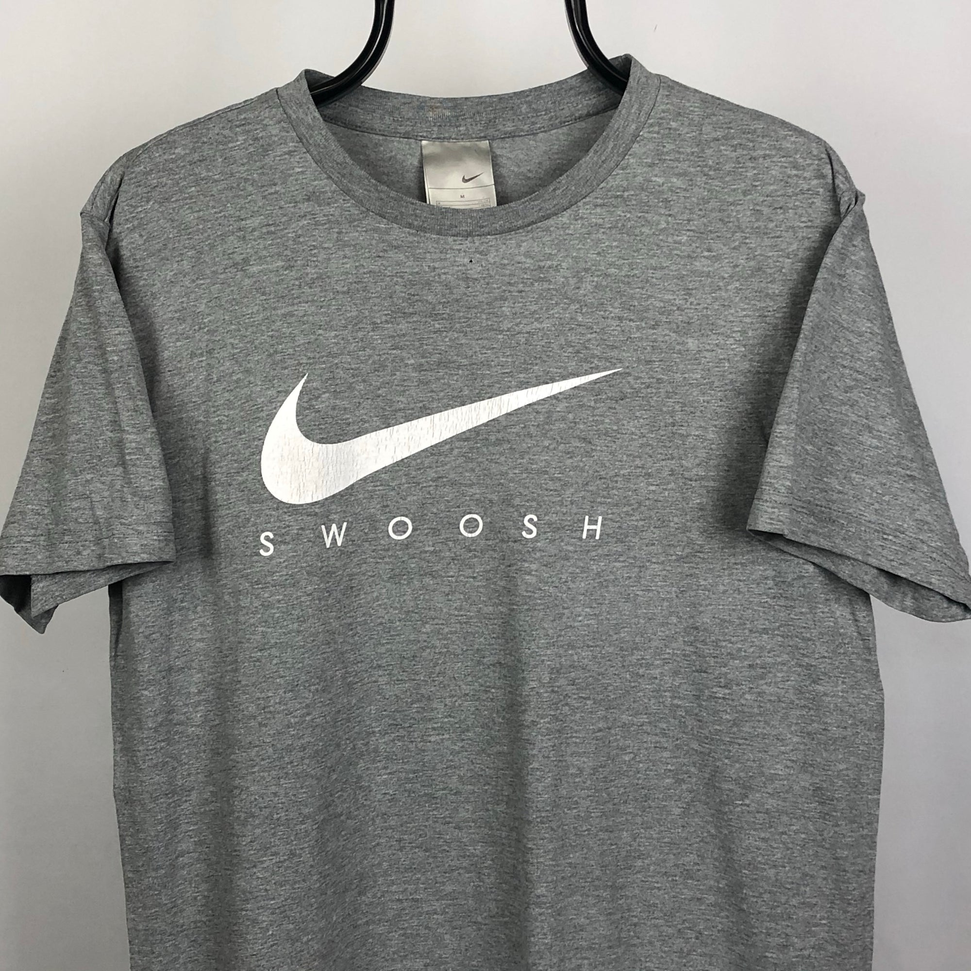 Vintage Nike Swoosh Tee - Men's Medium/Women's Large